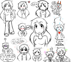 Vent doodles by KiraNohara