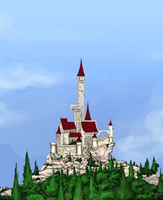 Castle In The Woods by N647
