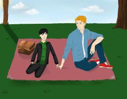 Bromantic Picnic by AbbyTLaRue