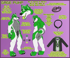 Gage-Puhp ref sheet 2013 by Mirera