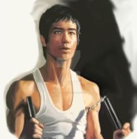 bruce lee by assassin-10