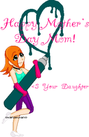 HAPPY MOTHER'S DAY 2008 by Kandechan