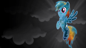 Stellar Rainbow Dash Wallpaper by ChingyPants