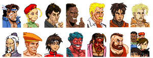 Custom SF2Nes Portraits by CallMeMrA
