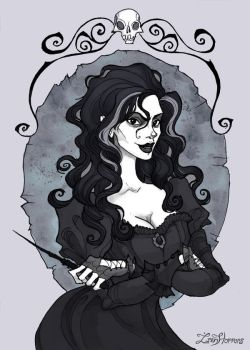 Bellatrix by IrenHorrors