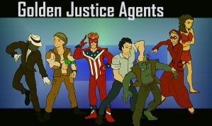 Golden Justice Agents by systemcat