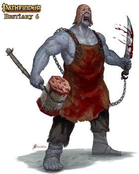Pathfinder-Bestiary-6-Mountain-Giant by Davesrightmind