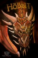 Smaug Bodypaint by Doubtful-Della