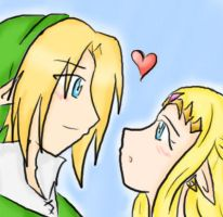 Zelink.... by Link-Zelda-club