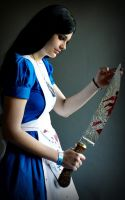 Alice Madness returns blue dress by Arrysia