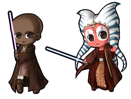 Jedi Chibis Batch 1 by Rixari