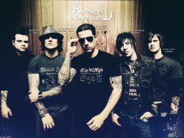 Avenged Sevenfold Wallpaper A7X by wall00