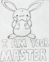 """""""I am your master"""" Poster by Jyrotika"""