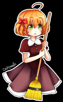 lil witch by cat-doodle