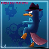 perry the platypus by SadowWolfKACT