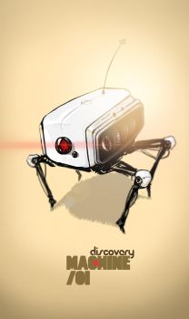 discovery machine 01 by metegraph