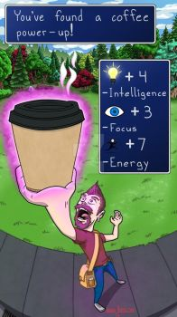 Coffee Power-Up by LucidArtist83