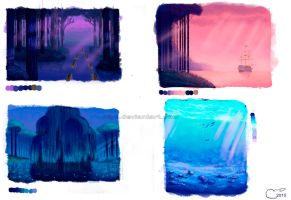 Pocahontas Study - Backgrounds by NtyS