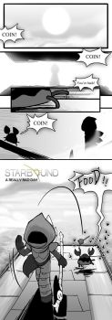 Starbound - A Really Bad Day, page 1 by Zennore