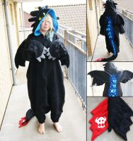 Toothless kigurumi, alpha version by Maria-M--aka--Bakura