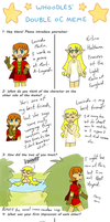 Double Oc Meme Lucinda and Erlina by PuddingValkyrie