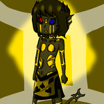 spritestuck sollux/for lack of a better name/ by evillovebunny500
