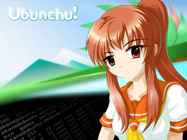 Ubunchu Wallpaper 3 by C-quel