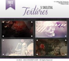 Grunge Skeletal Textures by OftheCrucified