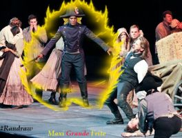 Inspector Javert gone mad with power. ^_^ by MaxiGrandeFrite