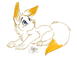 Chibi Fennec .:Gift:. by WolfRoxy
