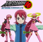MegaMan Network Chronicles Cross Fusion Roll by AnimeCitizen