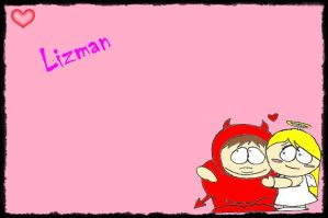 Lizman wallpaper by sweetgirl-Liza