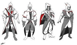 AC3 Costume concepts by Fergtron