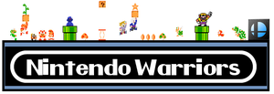 J.Z Logo And Title :Nintendo warriors: by zacharyleebrown