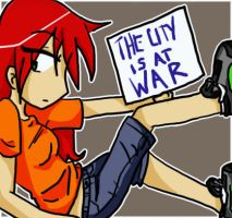 FOF-- City At War by KaruLeonnese