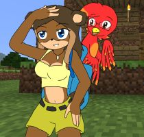 Banjo and kazooie next gen? or Chaos and sly?? by Chaos55t