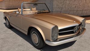 Mercedes Benz 230SL W113 by SamCurry
