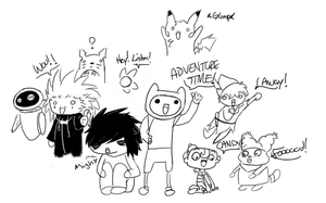 Lawl, I wanted to draw everyth by Hofftits