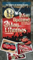 Poster-Flyer Opening 1May by r77adder