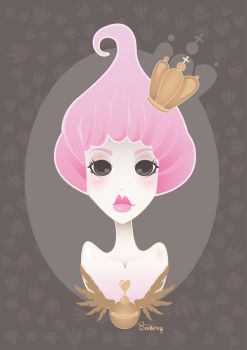 pinky princess by senkova