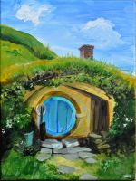 Hobbit Hole 1 by MBrainspaz