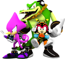 Team Chaotix! by Nibroc-Rock