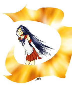Sailor Mars::auction theme pic by purree