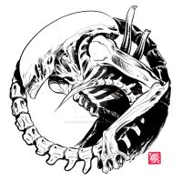 ALIEN by Tyler Crook by AshcanAllstars