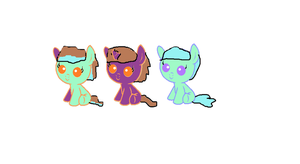 Foals for cupcakedog! by star4567980