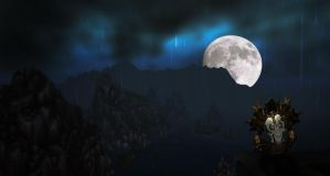 Lonely evening in Gilneas by blankstage