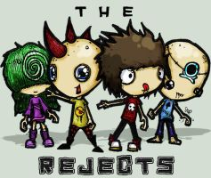 The Rejects by SinclairStrange