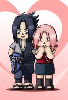 SasuSaku - Sweet Life by Wings-chan