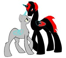 Assasin open collab pony form by QuestionTheDragon
