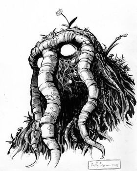 Man-Thing by ReillyBrown